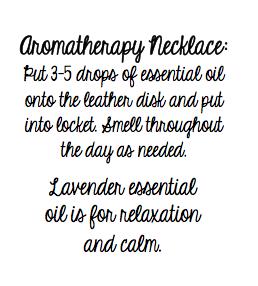 Aromatherapy Printable
