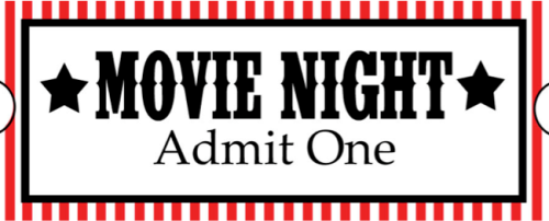Movie Night Printable